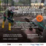 Zoo de Quito invita a seminario sobre el manejo de fauna silvestre