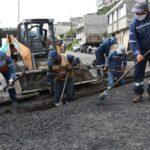 Mejoramiento de caminos en Puengasí, Lumbisí, Chilibulo y La Ecuatoriana