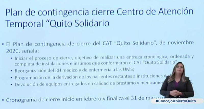 Cierre CAT Quito Solidario