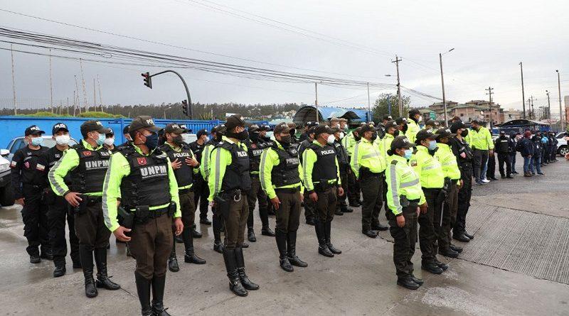 Operativos de seguridad Estación Río Coca