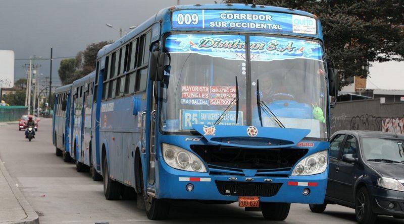 Restructuración de rutas del Transporte Público