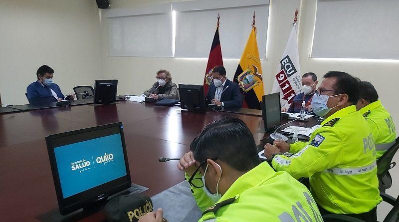 Reunión COE Metropolitano semana 11