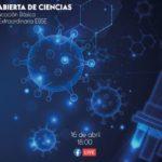 Sigue de manera virtual la IV Casa Abierta de Ciencias