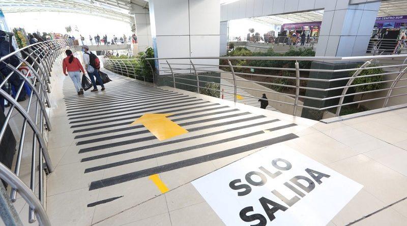 Terminales de La Marín, La Ofelia y Río Coca atenderán con restricciones