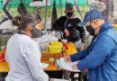 Toma de muestras de alimentos a comerciantes de la zona Eloy Alfaro