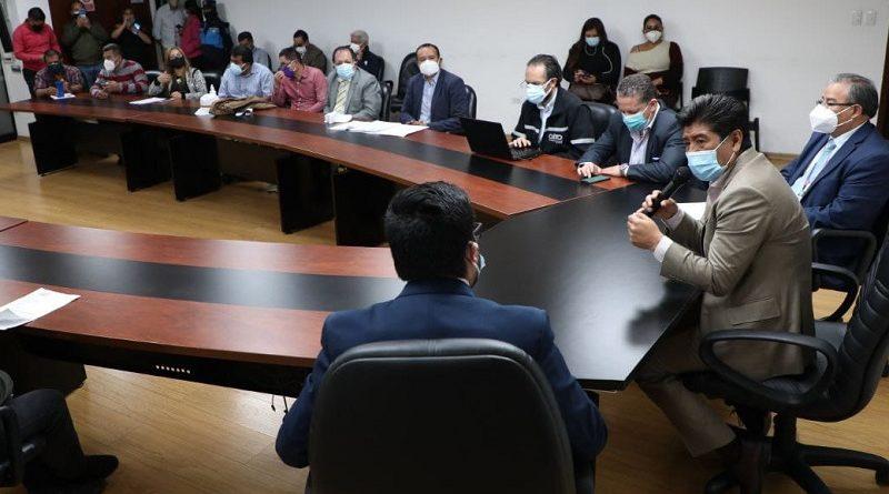 Mesas de diálogo entre Municipio y transportistas