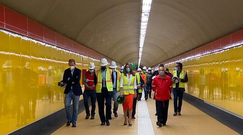 Metro prioridad en el país