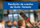 La ciudadanía puede participar en la rendición de cuentas de Quito Honesto