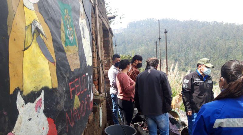 Municipio atiende los requerimientos ciudadanos de La Tola