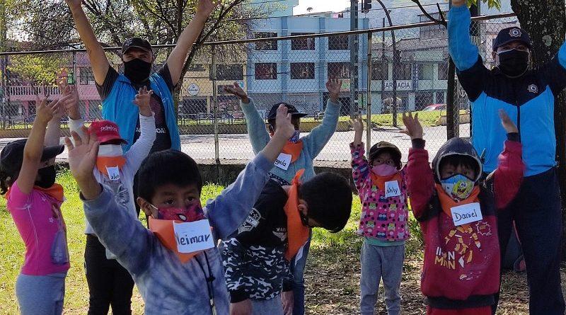 Espacios recreativos por parte del CACM a niños del CETI
