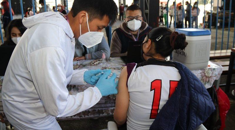 Punto vacunación Mercado La Carolina