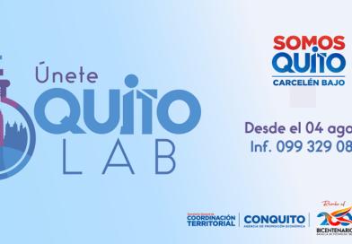 Sé parte de 'Quito Lab' laboratorios para la innovación y Participación Ciudadana