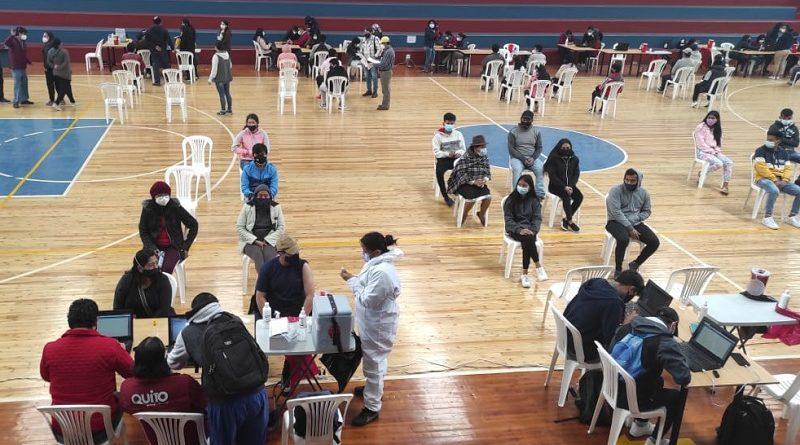 Vacunación Calderón