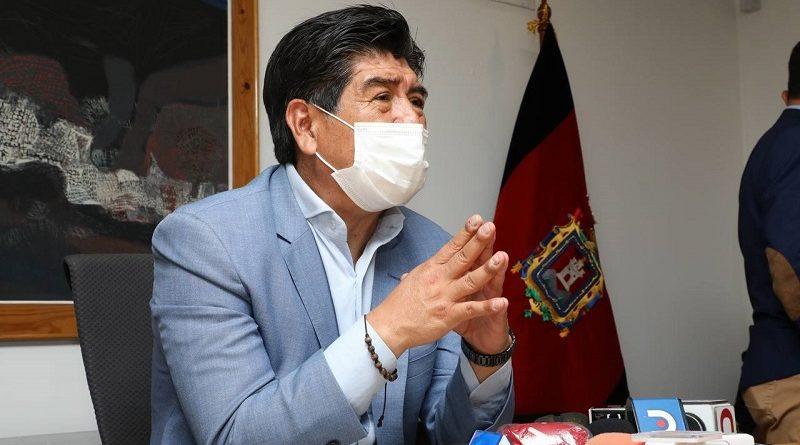 Alcalde Yunda pide ponerse la camiseta de Quito y recuperar el tiempo perdido