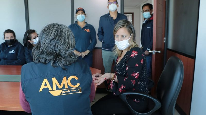 Nueva supervisora AMC
