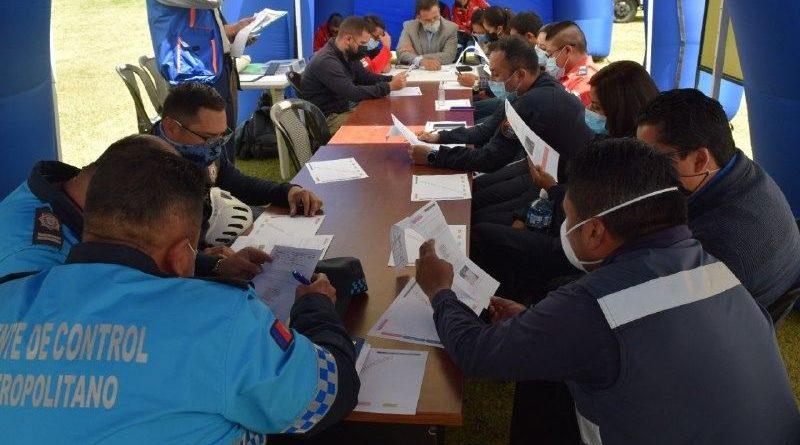 Se presentó el plan 'Responde Quito' para actuar ante emergencias e incidentes