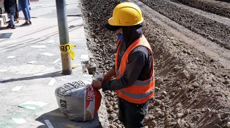 Pavimentación y adoquinado en Calderón