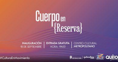 Se viene la exposición 'Cuerpo en Reserva' en el Centro Cultural Metropolitano