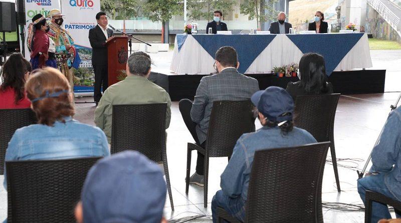 Cooperación municipio Andalucía y Quito