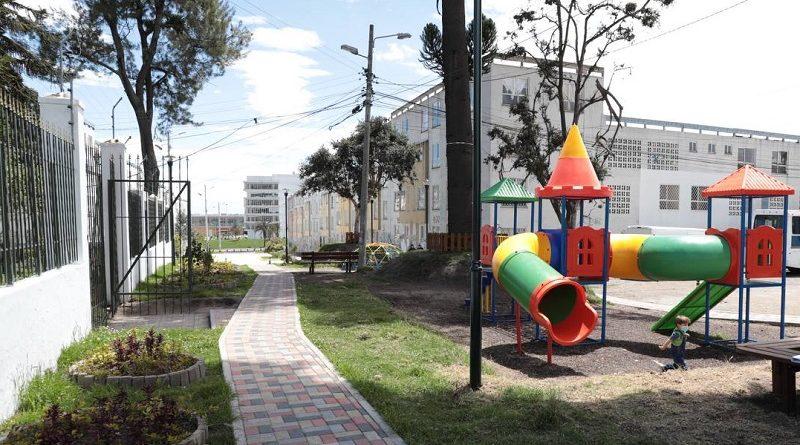 Inauguración adoquinado e infraestructura Quitumbe
