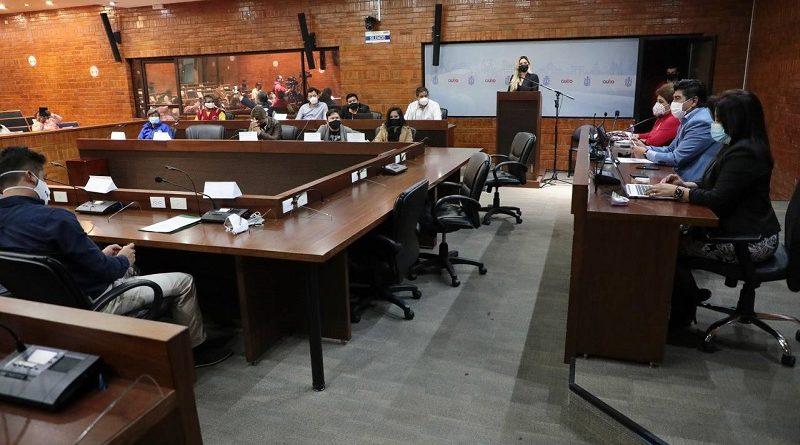 Mesas de trabajo gremios y colectivos sociales con alcalde