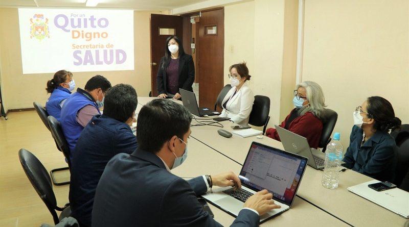 Acciones coordinadas Secretaría de Salud y MSP